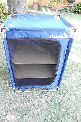 Small portable fold-up camp cupboard - shelves & carry bag - Knox, Melbourne