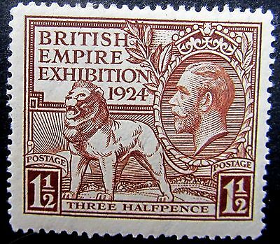 Great Britain 186 SG 431 mint OG LH 1924 KGV British Empire Exhibition 1-1/2d