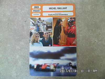 CARTE FICHE CINEMA 2003 MICHEL VAILLANT Sagamore Stevenin Peter Youngblood Hills