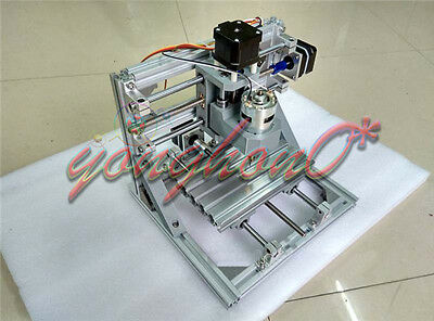 NEW DIY Mini 3-Axis CNC Router Engraver Carving Machine for PCB PVC Milling Wood