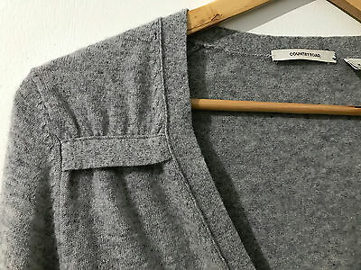 Country Road Size Medium Light Cardigan Grey -Free Pickup Available
