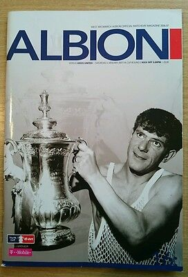 West Bromwich Albion v Leeds United programme, FA Cup 2006/07