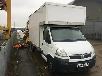 Luton Van Vauxhall Movano for sale or swap