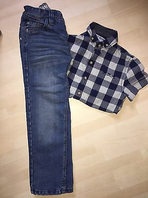 Boys Next Jeans And Shirt Outfit Age 6 Years