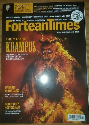 Fortean Times FT348 2016 CHRISTMAS EDITION