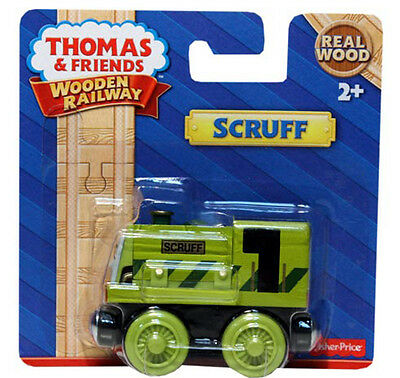 Fisher Price Thomas & Friends Wooden Railway Scruff Train Brand New Y4397