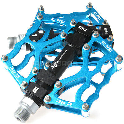 New Rockbros Bicycle Bike Pedals Cycling Sealed Bearing Pedals Blue
