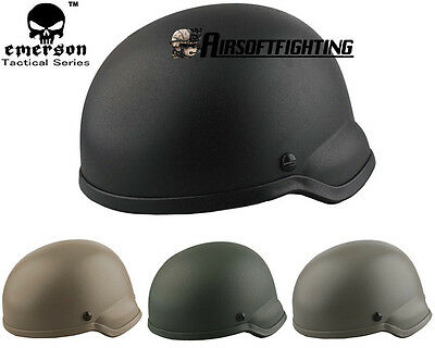 Emerso Military Airsoft Tactical Helmet EMERSON ACH MICH 2002 Helmet Paintball