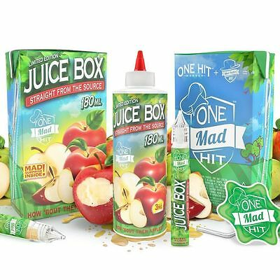 Juice Box E Liquid By One Mad Hit Wonder And Mad Hatter - 180ml