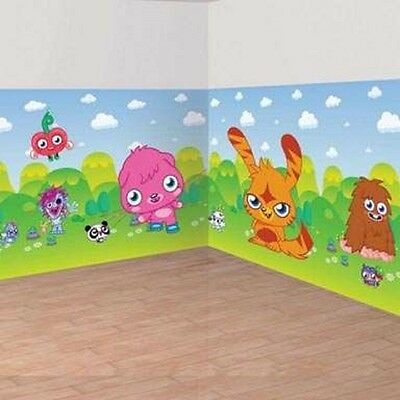 Moshi Monsters Room Roll 40 ft with Add on's - Kids party Decorations