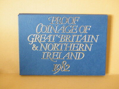 Royal Mint Coinage of Great Britain & Northern Ireland Proof Set 1982