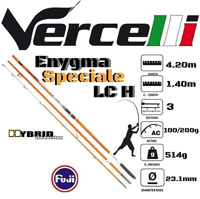 Vercelli Surfcasting Rod Enygma Speciale Lc H