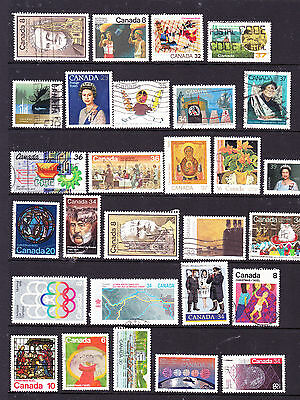 Canada stamps - 28 Used