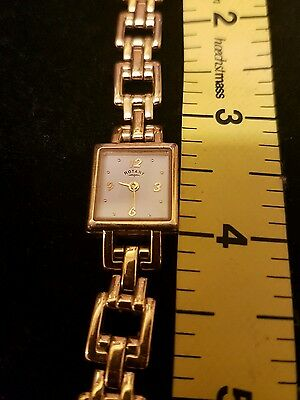 Rotary gold ladies watch