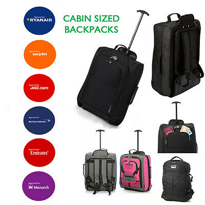 Bagage Main Backpacks Sacs Chariot A Roulettes Bagage De Cabine Ryanair Easyjet