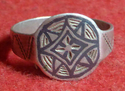 Fantastic Medieval Silver Ring