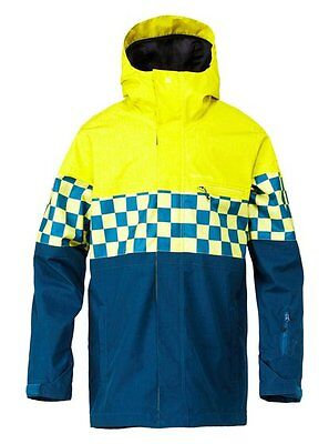 Quiksilver   Insulated  Snowboard/ Ski Jacket Size XL   RRP £169 10 K