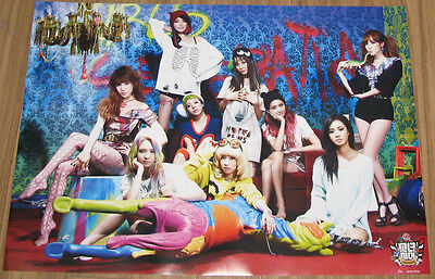 GIRLS' GENERATION SNSD I Got a Boy SM EVERYSING OFFICIAL PROMO POSTER NEW