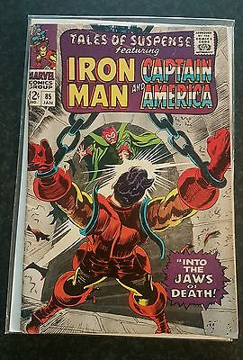 Tales of Suspense #85, 1st print - Into the Jaws of Death! VG- 3.5
