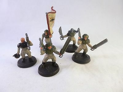 Warhammer 40k Imperial Guard Astra Militarum Cadian Command Squad