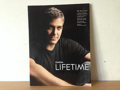 New - Magazine  OMEGA LIFETIME  Revista THE TRAVEL ISSUE - George Clooney