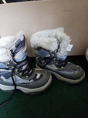 kids boots winter shoes uk 9