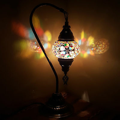 99p AUCTION Turkish Moroccan Style Table Desk Lamp Light - UK TOP SELLER