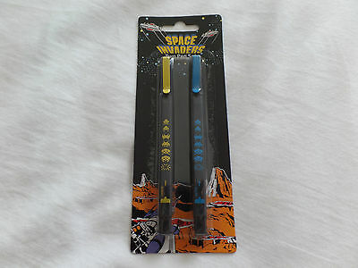 Space Invaders Two Pen Set - New And Sealed