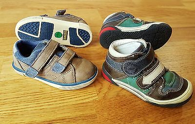 TIMBERLAND & BELLAMY leather shoes boy size UK 6 Infant EU 23 great condition