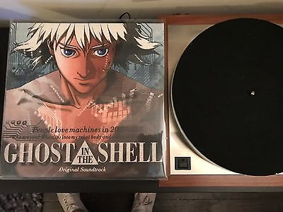 Vinyl Anime Ost Ghost In The Shell Rare Oop Hard To Find Custom