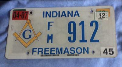 Masonic Tag/Number Plate Could Be Your Lodge Number? Collectors Items