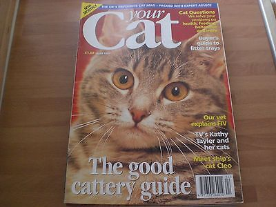 Your Cat Magazine - Issue Seven (7th) - April 1995 - Kathy Tayler TV-am