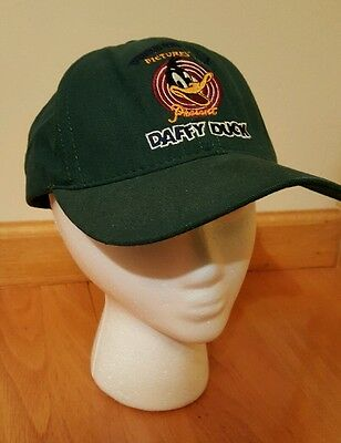 WARNER BROTHERS DAFFY DUCK BASEBALL CAP. RARE.  From 1990's