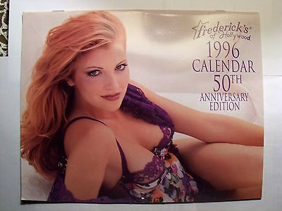 Frederick's of Hollywood Calendar  50th Anniversary Eition Sweet! 1996