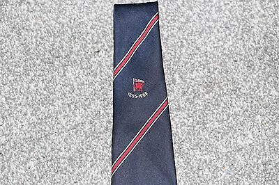 1885-1995 London Welsh Rugby Union Centenary Tie