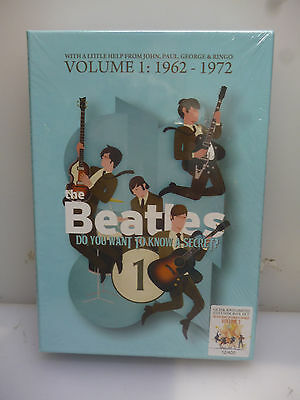 Beatles-Do You Want To Know A Secret? Vol.1:1962-72-12Cd+3Dvd Boxset-New.sealed