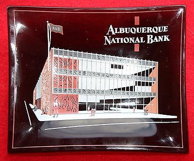 "ALBUQUERQUE NATIONAL BANK promotional dish 4 3/4""X 3 3/4"""