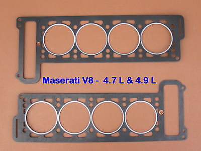 Maserati Ghibli  Indy  Bora  Khamsin  Joints De Culasse  Head Gaskets Set