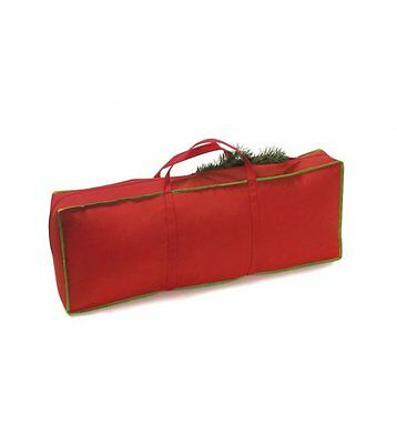 Bnwt Christmas Garland / Tree Storage Bag Zip Up Red Approx 6Ft For Decs / Trees