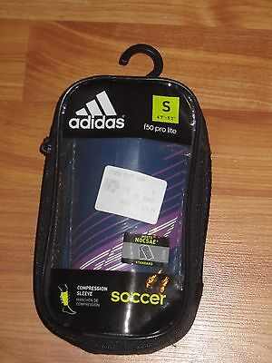 Adidas, Soccer, Shin Guard with Compression Sleeve