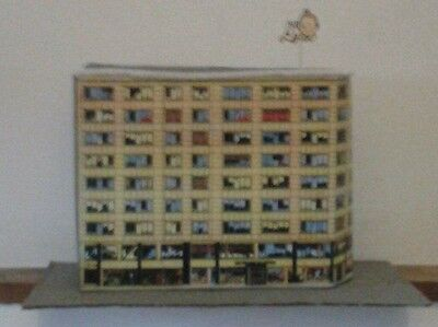 tintin building lombard construit  1960  introuvable