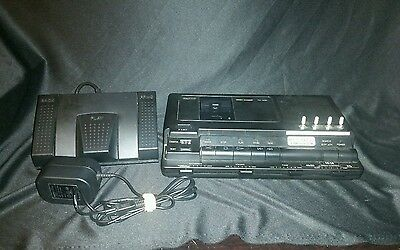 Sanyo TRC-8080 Standard Cassette Recorder Transcriber Complete Dictation System