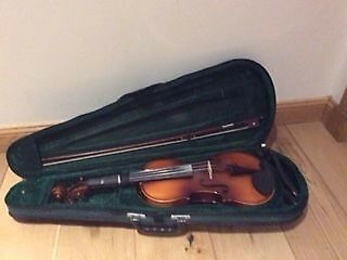 Full Size Violin, Bow and Case