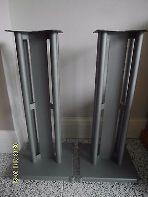 Speaker Stands (Pair) - GREY * ONE OF PARTINGTON GROUP?? MINT CONDITION
