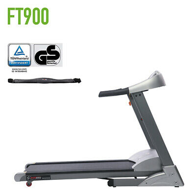 Fitifito FT900 Profi Laufband 7PS 22km/h mit LCD Display 8 Zonen Dämpfung HRC