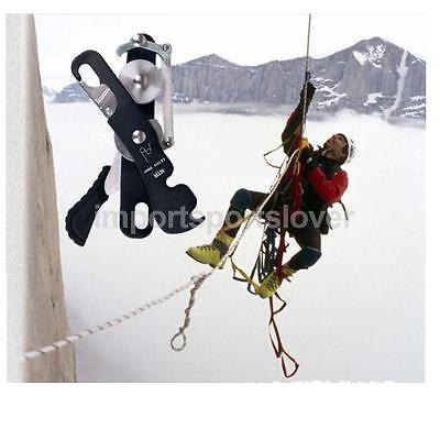 Safety Climbing Stop Descender for Mountaineering Repelling Hand Control