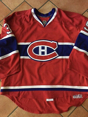 Cristobal Huet Game Worn Jersey - Montreal Canadiens 2007-08