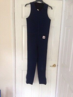 Mistral Sportswear Girls/ Boys/small adult Blue Wetsuit- Measures 34 ins chest