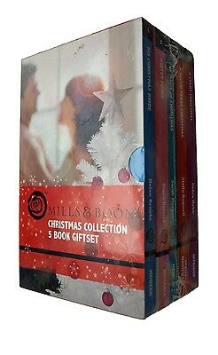 Mills and Boon Christmas Love Collection Box Gift Set Romance Books 5 Books New