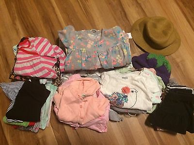 baby girl clothes 12-18 months lot